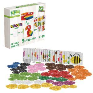 Biobuddi Pixel Set XXL für Kinder in Kindergarten- und Schulalter