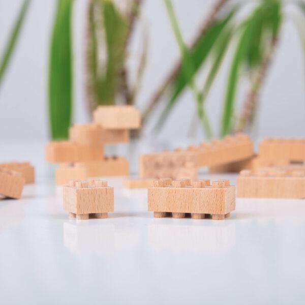 FabBrix Bausteine aus Holz Lego® kompatibel