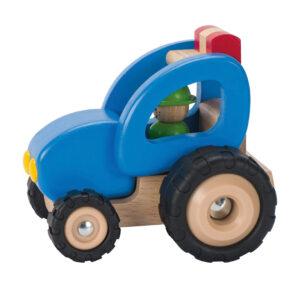 Traktor aus Holz von Goki