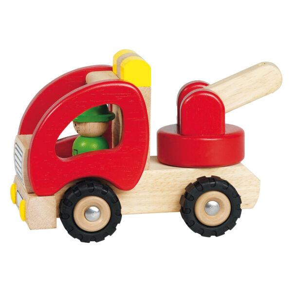 Abschleppwagen aus Holz von Goki