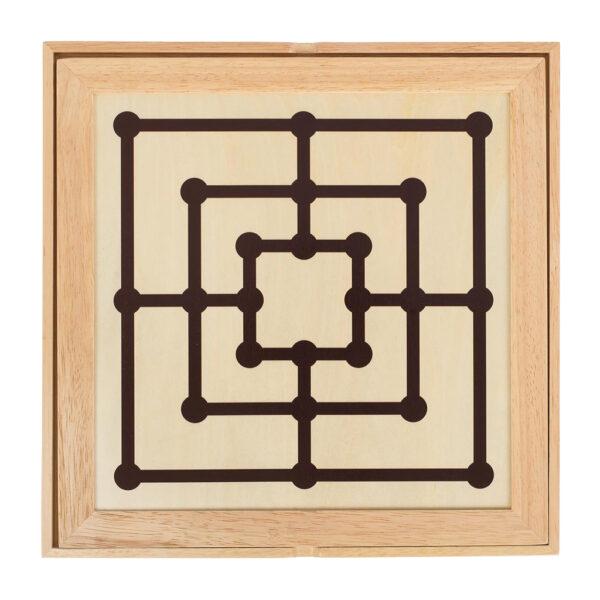 Spiele Set Klassiker Tischspiel aus Holz für Kinder