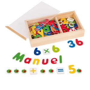 Magnet Alphabet und Zahlen