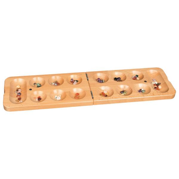Kalaha Tischspiel aus Holz