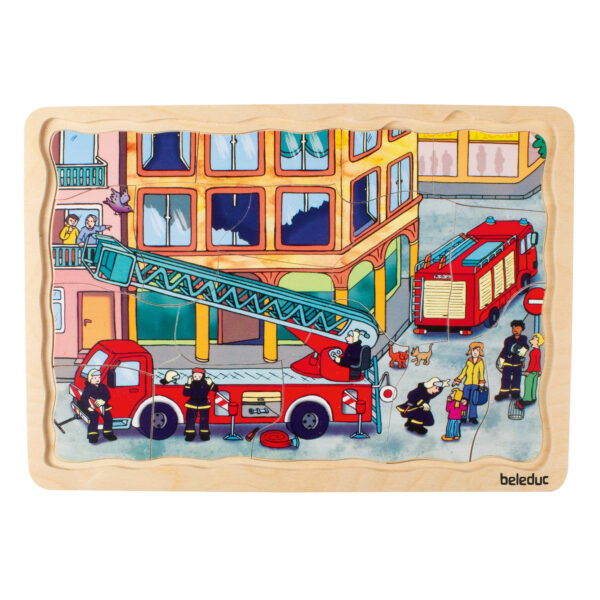 Lagenpuzzle Feuerwehr