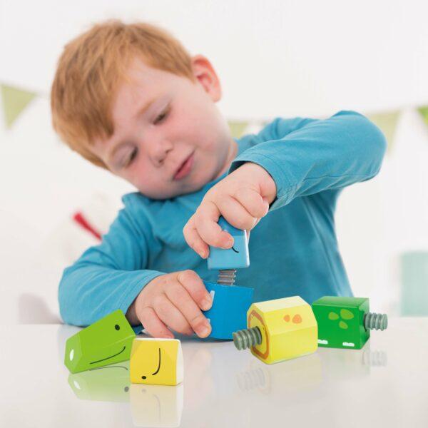 Durchgedrehte Tiere Spiel für Kinder in Krippen- und Kindergartenalter
