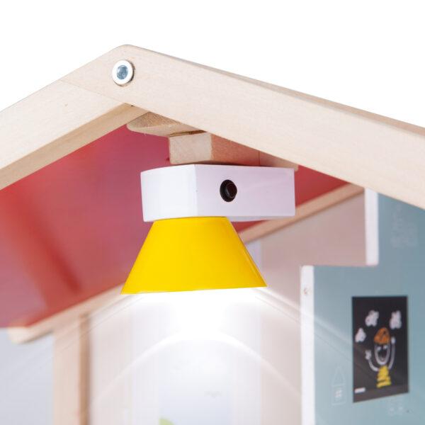 Lampe der Puppen Villa