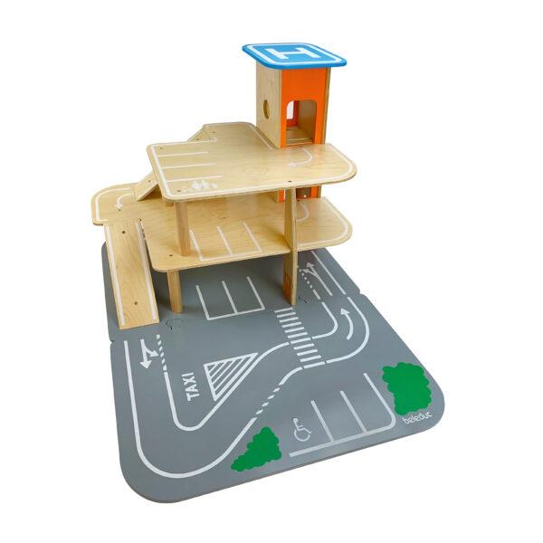 XXL City Parkhaus aus Holz