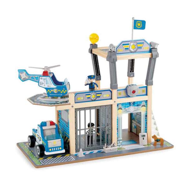 Polizeistation zweistöckig für Rollenspiel