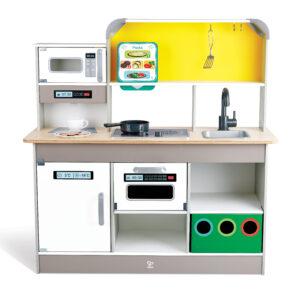 Deluxe Spielküche mit Mikrowelle