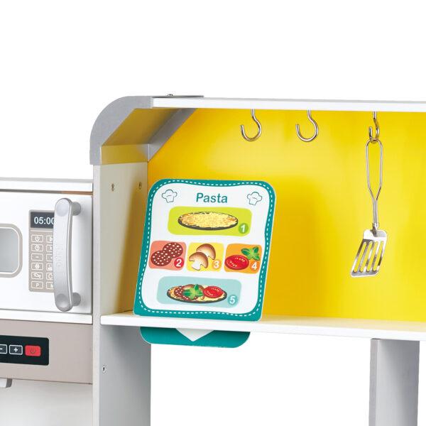 Detail zur Deluxe Spielküche mit Mikrowelle