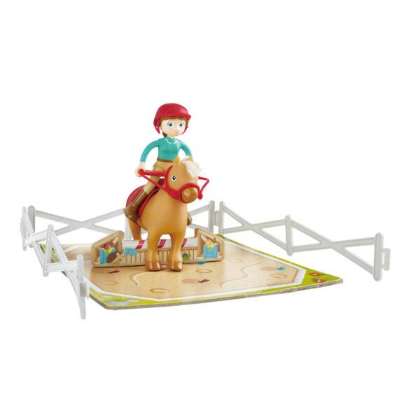 Zubehör zum Ponyhof Spielhaus für Pferdeliebhaber