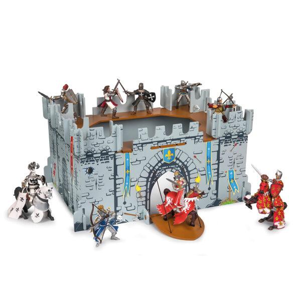 Spielfiguren Set Ritterburg mit Rittern