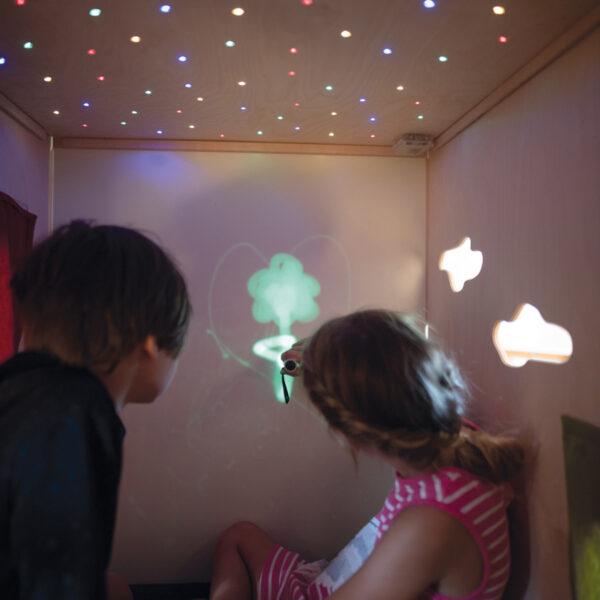 Sternenhimmel mit LED Lichtern