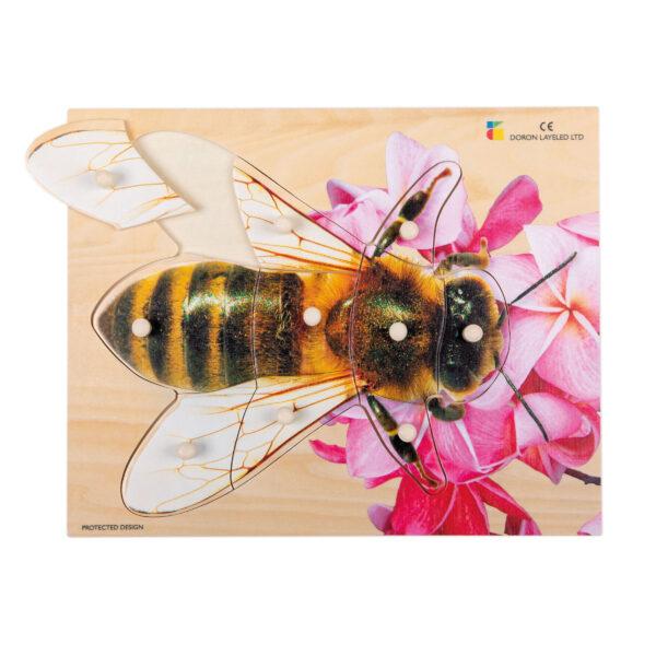 Holz-Puzzles Tiere Biene