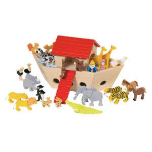 Arche Noah aus Holz für Kinder