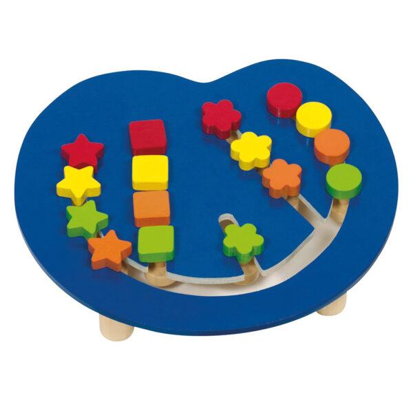 Farbsortierbrett Tischspiel