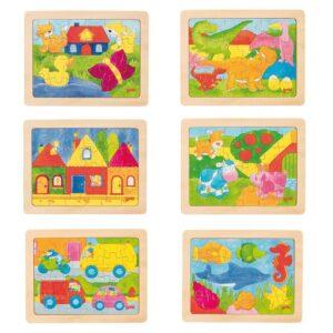 MIni Rahmenpuzzles 6er Set