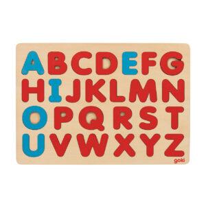 Alphabetpuzzle nach Montessoriaus Holz Lernspiel für Kinder