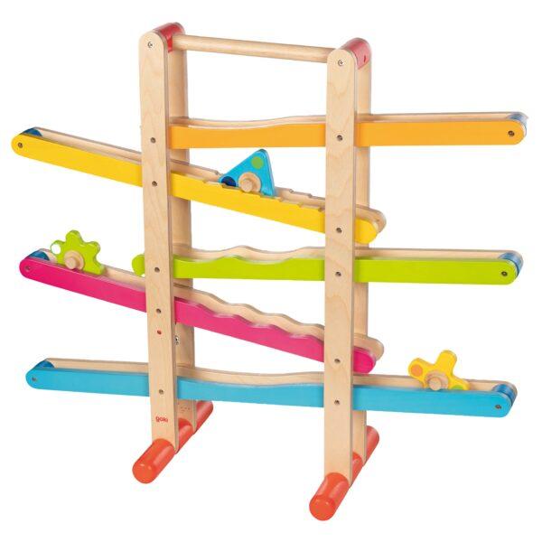 Kreiselbahn aus Holz für Kinder im Krippen- und Kindergartenalter
