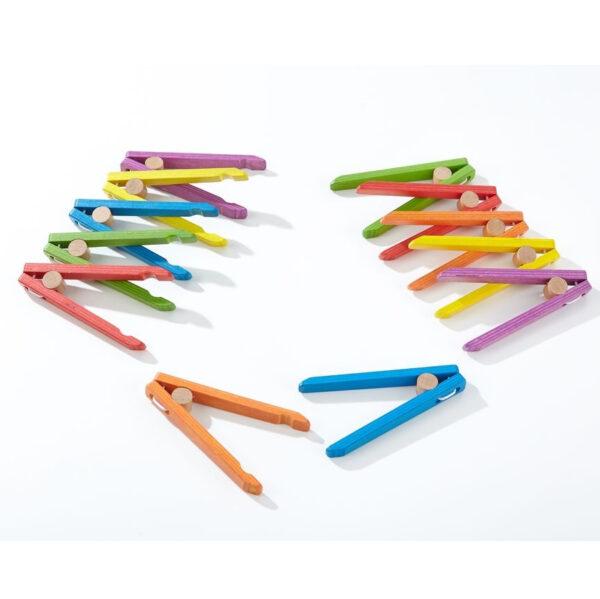 Pinzetten bunt für Kinder in Kindergarten- und Schulalter