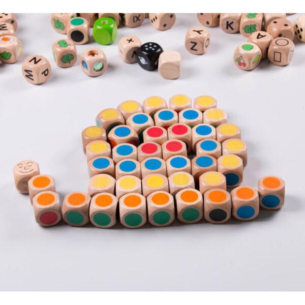 Farbwürfel XL Würfel für Kinder in Krippen- und Kindergartenalter