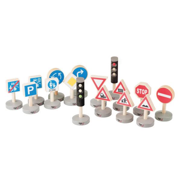 Finger Flitzer Verkehrszeichen