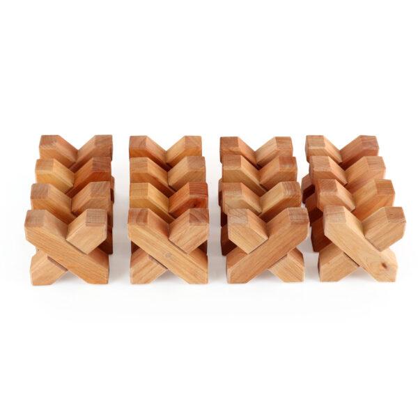 X-Klötze von Bauspiel 16-teilig