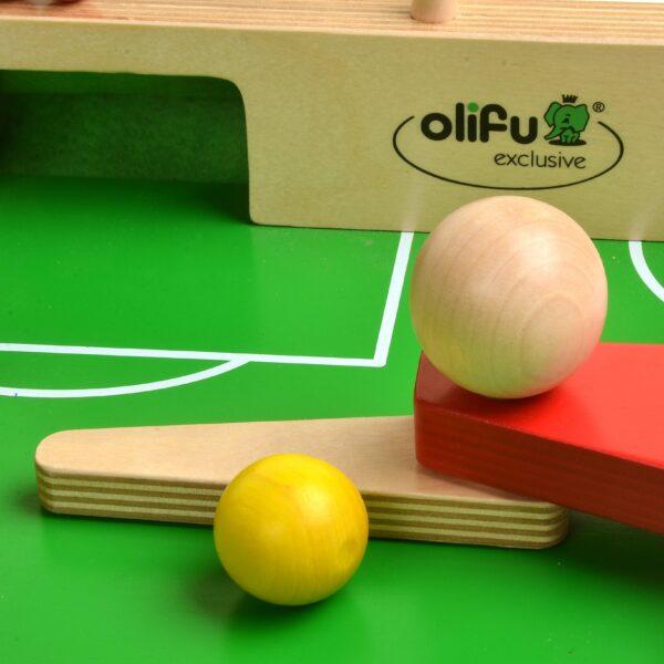 Detail olifu Fußballkicker